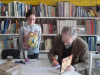 Litovski pisatelj na obisku